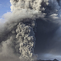 Eruption Of Ash Cloud From Mount Bromo by Richard Roscoe