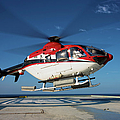 Eurocopter Ec135 Utility Helicopter by Terry Moore