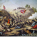 Fort Pillow Massacre, 1864 by Granger