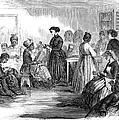 Freedmens School 1866 by Granger