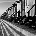 Frinton On Sea Beach Huts by Darren Burroughs