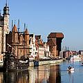 Gdansk In Poland by Artur Bogacki