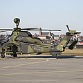 German Tiger Eurocopter At Fritzlar by Timm Ziegenthaler