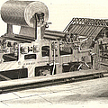 Hoe Web Printing Press by Granger