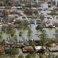 Hurricane Katrina Damage by Science Source