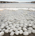 Ice Forming On Lake by Mark Duffy