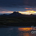 Iceland Midnight Sun by Gregory Dyer