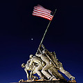 Iwo Jima Memorial At Dusk by Metro DC Photography
