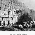 Jerusalem: Wailing Wall by Granger