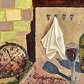 Kitchen Collage by Susan Schmitz