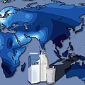 Lactose Tolerance, Eurasia And Africa by Art For Science