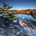 Lake George At Killarney Provincial Park In Fall by Oleksiy Maksymenko