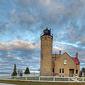 Lighthouse At Mackinac by Twenty Two North Photography