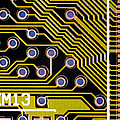 Macrophotograph Of A Circuit Board by Dr Jeremy Burgess