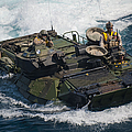 Marines Navigate An Amphibious Assault by Stocktrek Images