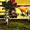 Mars Base by Christian Darkin