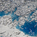 Meltwater Lakes On Hubbard Glacier by Matthias Breiter