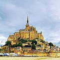 Mont Saint Michel by Elena Elisseeva