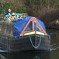 Narrowboat by Chris Day