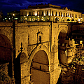 New Bridge In Ronda by Artur Bogacki