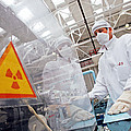 Nuclear Fuel Assembly, Russia by Ria Novosti