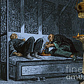 Opium Den by Photo Researchers