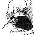 Paul Verlaine (1844-1896) by Granger