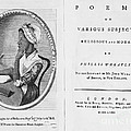 Phillis Wheatley, African-american Poet by Photo Researchers
