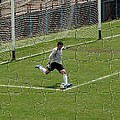 Photo Puzzle Of The Goalkeeper  by John Vito Figorito