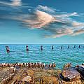 Pier Posts by Jill Battaglia