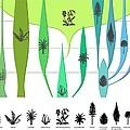 Plant Evolution, Diagram by Gary Hincks