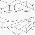 2-point Perspective Drawing by Gregory Dean
