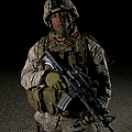 Portrait Of A U.s. Marine by Terry Moore