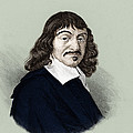 Rene Descartes, French Polymath by Science Source