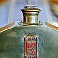 Rolls-royce Hood Ornament by Jill Reger