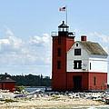 Round Island Lighthouse by Marysue Ryan