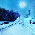 Rural Road In Winter by Jill Battaglia