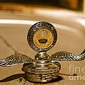 Rusted Antique Ford Car Brand Ornament by ELITE IMAGE photography By Chad McDermott