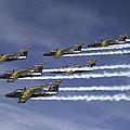 Saab 105 Jet Trainers Of The Swedish by Daniel Karlsson