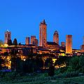 San Gimignano by Brian Jannsen