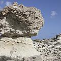 Sarakiniko White Tuff Formations by Richard Roscoe