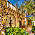 Sedona Tlaquepaque Shopping Center by Jon Berghoff