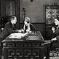 Silent Film Still: Offices by Granger