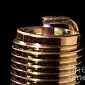 Spark Plug Firing by Ted Kinsman
