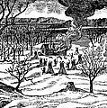 Spirit Lake Massacre, 1857 by Granger