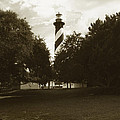 St. Augustine Lighthouse by Skip Willits
