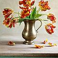 Still Life With Tulips by Nailia Schwarz