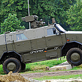 The Dingo 2 Mppv Of The Belgian Army by Luc De Jaeger