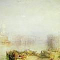 The Dogana And Santa Maria Della Salute Venice by Joseph Mallord William Turner