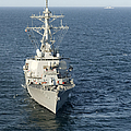 The Guided-missile Destroyer Uss Laboon by Stocktrek Images